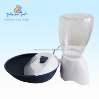 Activated charcoal filter pet water dispenser for dogs and cats