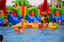 Giant Indoor Outdoor Inflatable Water Games Park Playground For Commercial, Inflatable Water Park For Adults