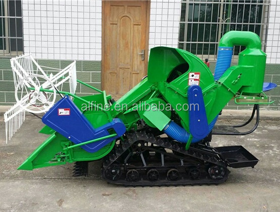 Factory supply high effciency half feed combine harvester