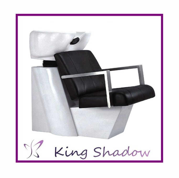 kingshadow adjustable shampoo chair soft hair washing combinable salon hair shampoo chair backwash units