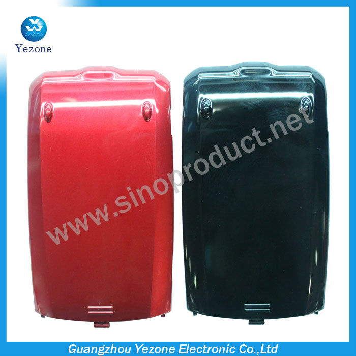 For LG Helix UX310 Battery Door Cover Case , Black and Red Color