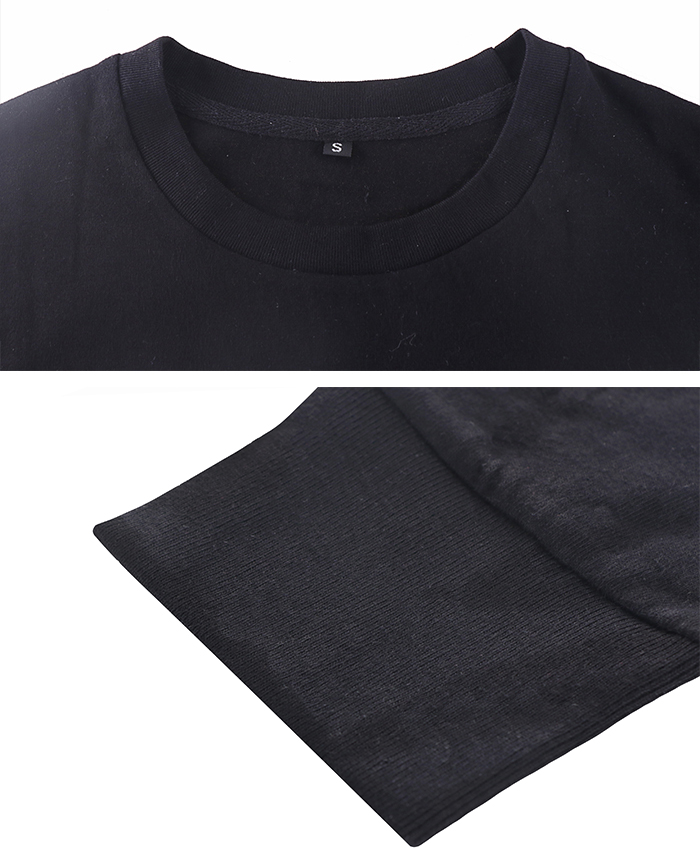 Hot sale 100% cotton custom men long sleeve t-shirt