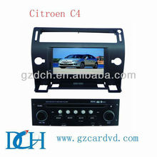 citroen c4 car dvd player with gps navigation and bluetooth WS-9428