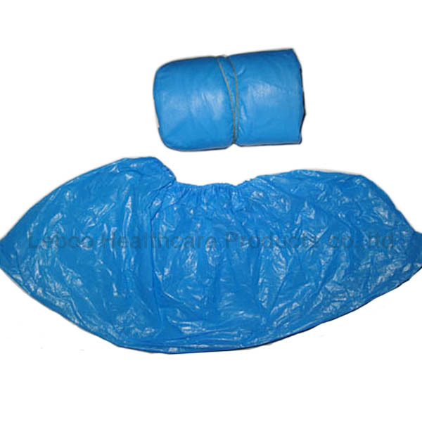 Food grape CE approved disposable CPE shoe cover