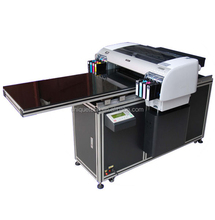 cheap digital LED UV printing machine A2 size for sale flatbed