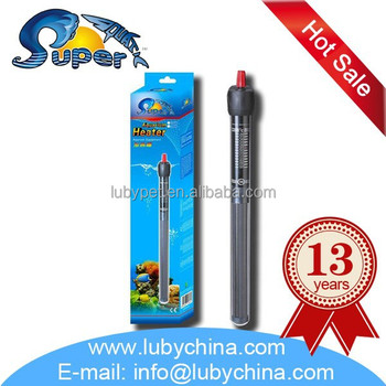 Different watt Super Aquatic auto heat-off Aquarium glass Heater for fish tank, with high temperature accuracy