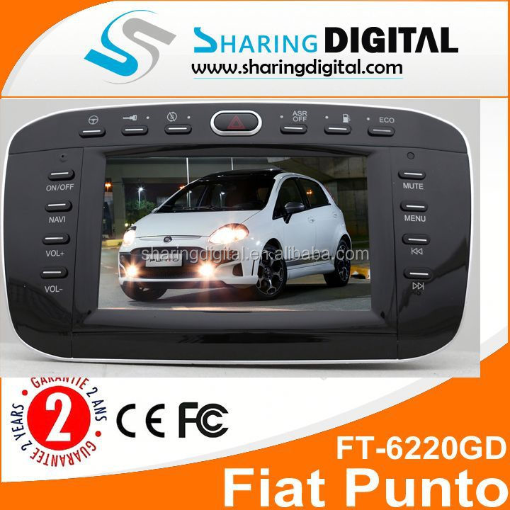 Wholesale Gps Navigation Radio Bluetooth Rds Canbus 2 Din Autoradio For Fiat Punto Linea