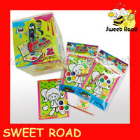Children Watercolor Painting Candy Toy
