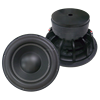 Professional 12 inch dual coil RMS 300w powerful subwoofers