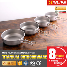 Titanium 8pcs Cookware Set With Cook Pan And Cooking Pot Set