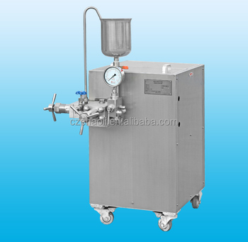 High pressure Ice cream freezer machine homogenizer