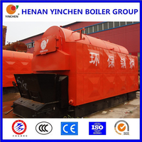 Hot sale 3 pass fire and water tube biomass automatic biomass boiler domestic home use
