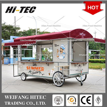 Roman Holiday Edition L Size European Style Environmental Protected Food Cart for Multifunctions