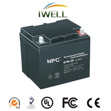 OEM manufacturer Lead acid Batery rechargeable Battery maintenance-free battery 12V 38AH