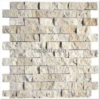 Classic Travertine 2,3x4,8 cm Split Face VERY CHEAP