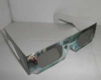 best selling customized solar eclipse 3d glasses / eyewear