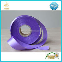 Decorative Polyester Satin Gift Ribbons For Wrapping