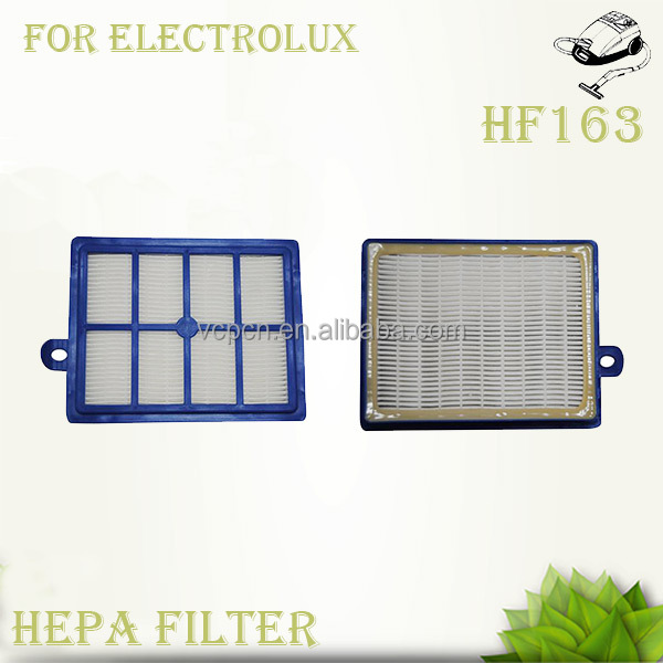 blue vacuum cleaner filter (HF163)