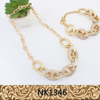 Fancy necklace set for ladies costume jewellery fashion