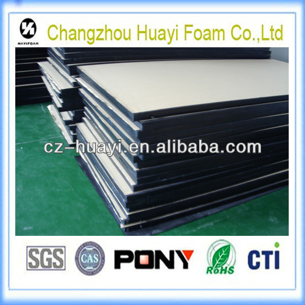 foam rubber pad rubber desk pad adhesive backed rubber pad