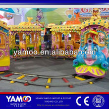Cartoon Amusement Park Toy Train for Malls, Kids/Electric Toy Train Model/Sale Model Train