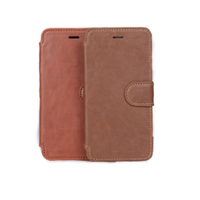 For iphone 6 PU leather flip smart phone case