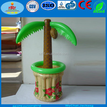 PVC Inflatable Palm Tree Cooler, Inflatable Palm Tree Ice Bucket