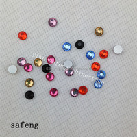 ss12 colorful dmc crystal hot fix stone SFL007