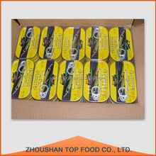 Best quality 125g canned sardine in vegetable oil