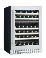 51 bottles high quality latest design wine cooler/wine cabinet