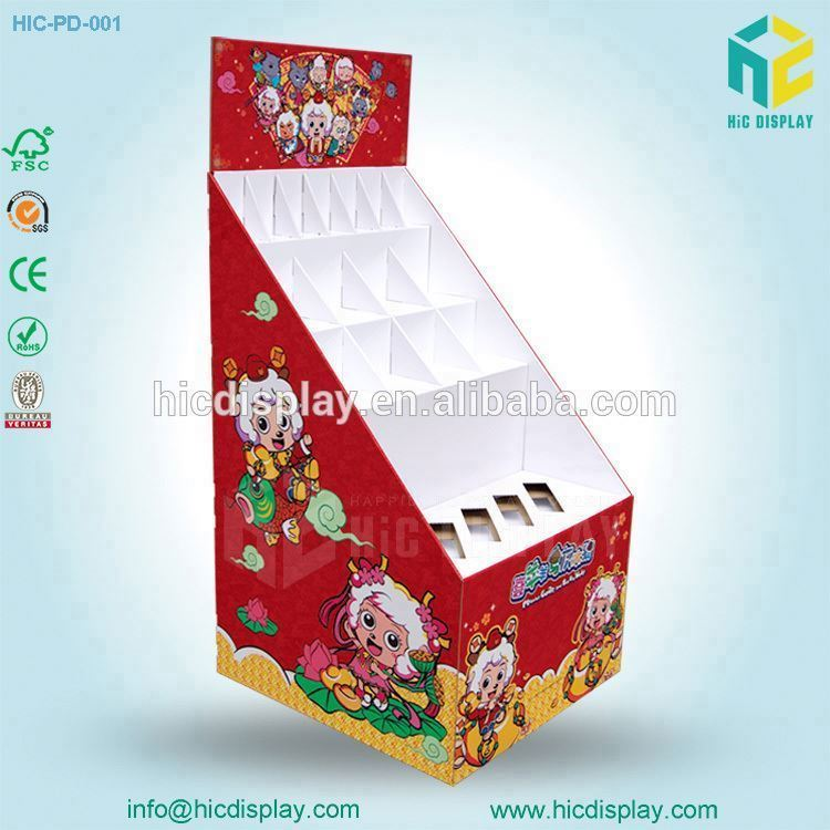 HIC Pop Up Cardboard Display Pallet Pdq