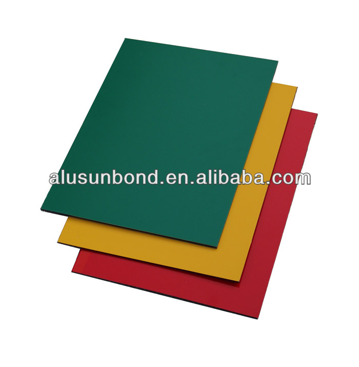 Wall decoration material aluminium composite panel