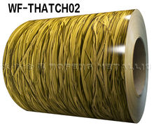 Latest building material thatch design prepainted galvanized steel coil for roofing material