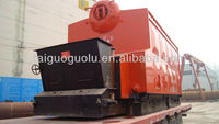 Double drums coal fired boiler generator for small power station