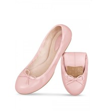 Wholesale Alibaba Women Ladies Nude Soft Split Rubber Sole Flat Shoes