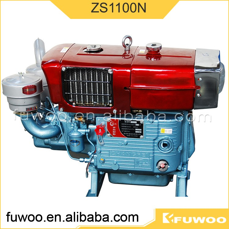 Fuwoo factory price 100mm Bore ZS1100N diesel engine