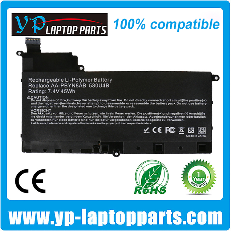 <strong>100</strong>% high copy replacement <strong>battery</strong> AA-PN3NC6F <strong>laptop</strong> <strong>battery</strong> for Samsung 530U4B AA-PBYN8AB AA-PN3NC6F PBYN8A 530U4C <strong>laptop</strong>