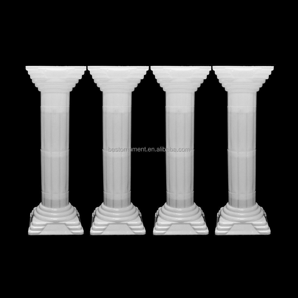 Decorative wedding roman column buy plastic roman for Decorative column