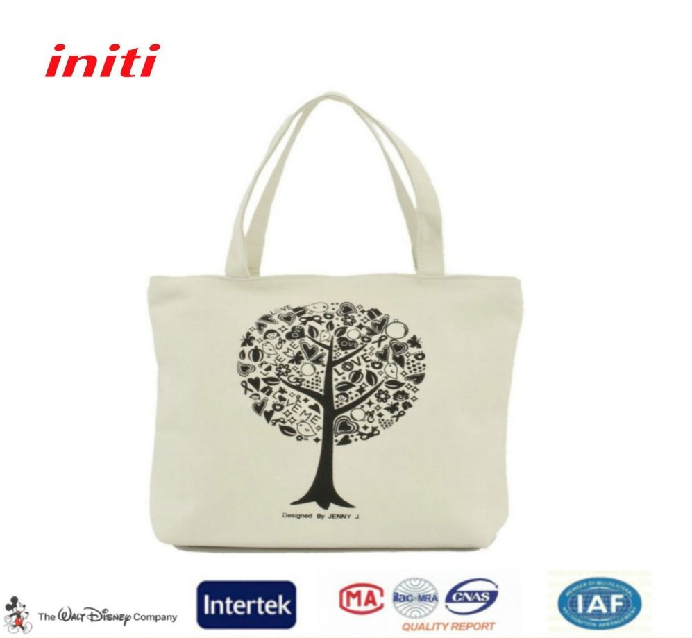 Cheap Promotion Wholesale Fashion Reusable Tote Cotton Bag
