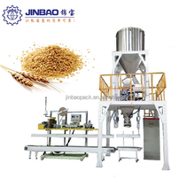 10kg 25kg bulgur bag packing machine with heat sealer