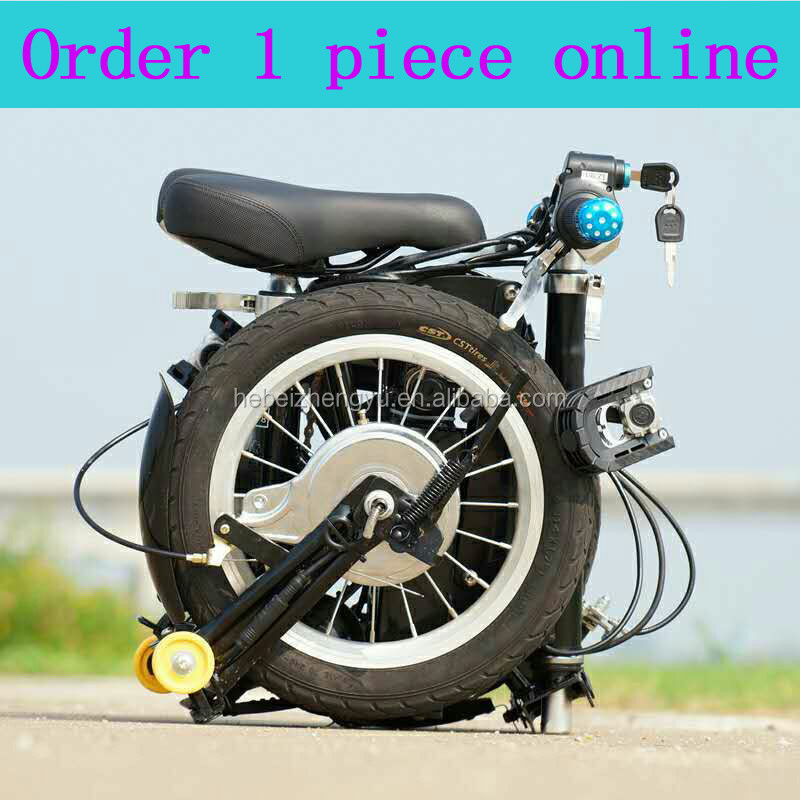 12inch 14inch aluminium frame electric or non electric <strong>folding</strong> bike