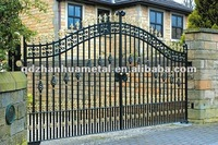 decorative garden and house iron gate