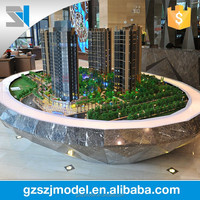 China supplier 1/150 3d architectural rendering model , scale model