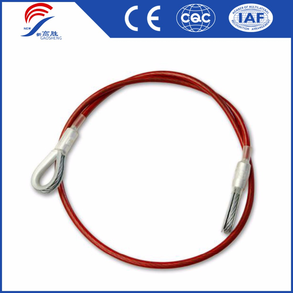 7*7 PVC Coated Galvanized Steel Wire Rope