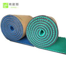 High Density sound Acoustic Adhesive Backed Foam Rubber Soundproof Material