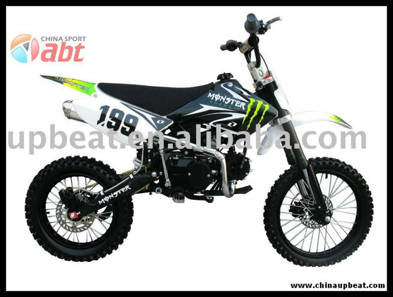 125cc Lifan Engine Dirt Bike,Manual Dirt Bike With Kick Start