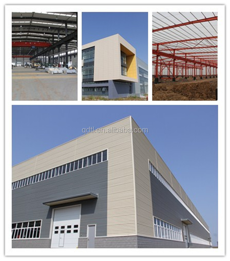 Prefabricated residential steel structure car garage