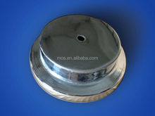 Galvanized Sheet Metal Spinning Parts for any Non-Standard shape, cover, crust, shell, etc. OEM Available