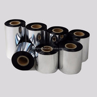 Imported Barcode Label Ribbon 110x300m,Thermal Transter Ribbon, Wax Resin Printer Ribbon