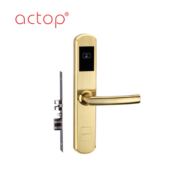 2018 intelligent Wireless Online Rfid Card Hotel Door Lock For Sale Smart Locks Management System Security Used
